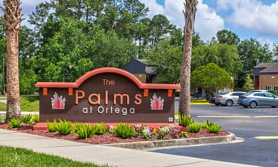 Community Signage, The Palms at Ortega, 1