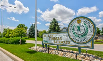 Community Signage, The Colony @ Fallen Timbers, 2