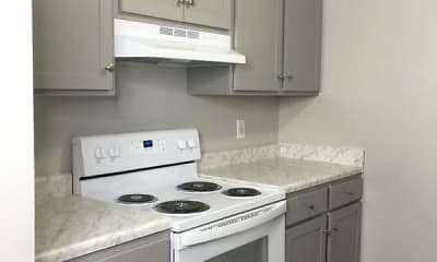 Kitchen, The Flats at the View, 1