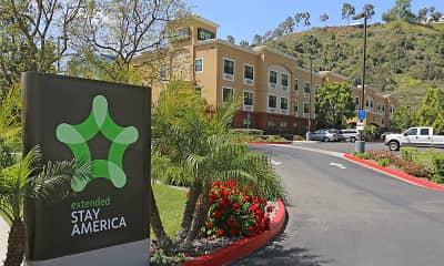 Building, Furnished Studio - San Diego - Mission Valley - Stadium, 1