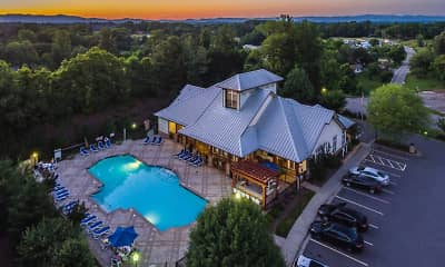 view of drone / aerial view, Reserve At Asheville, 0