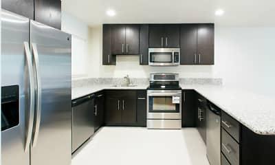 Kitchen, Pomona West, 1