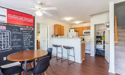 Dining Room, University Suites Student Apartments, 0