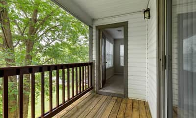 Patio / Deck, The Verandahs Apartments, 2