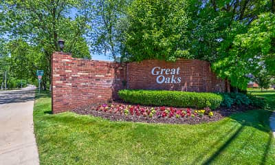 Community Signage, Great Oaks Apartments, 2