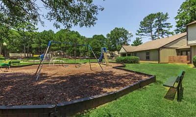 Playground, Madison Landing at Research Park, 2