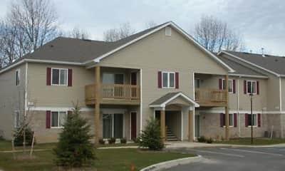 Building, Whitmore Lake Apartments, 0