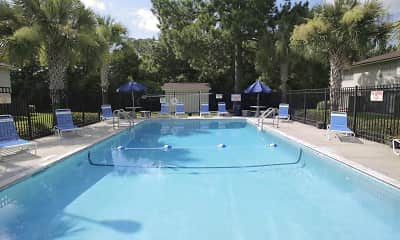 Pool, Crown Villas Apartments, 1