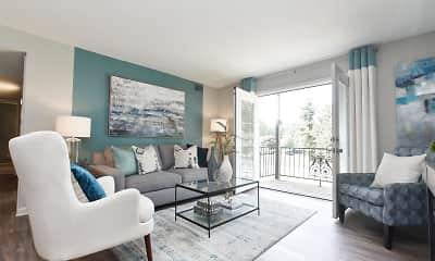 Living Room, The Harper, 2