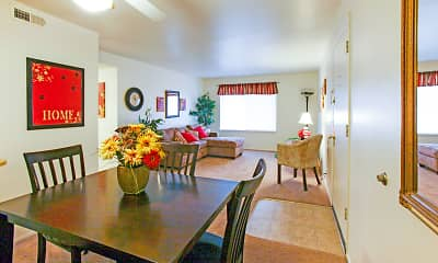 Dining Room, Lake Park Apartments, 1