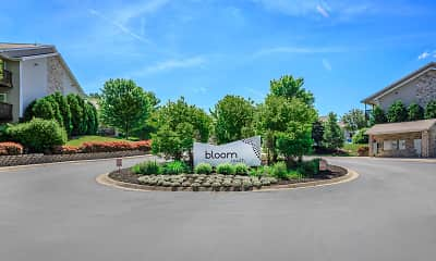 Community Signage, Bloom Apartments, 0