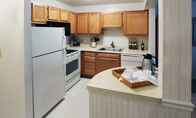 Kitchen, Towne Towers, 1