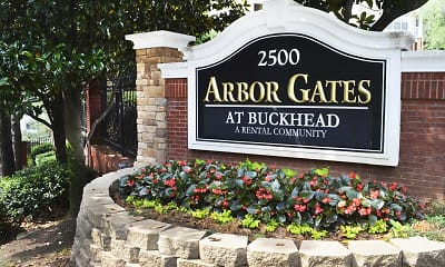 Community Signage, Arbor Gates at Buckhead, 2