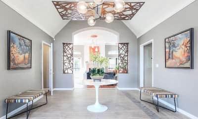 Foyer, Entryway, Parkway Terraces, 1