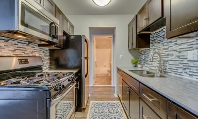 Kitchen, Spice Tree Apartments, 0