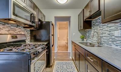 Kitchen, Spice Tree Apartments, 0