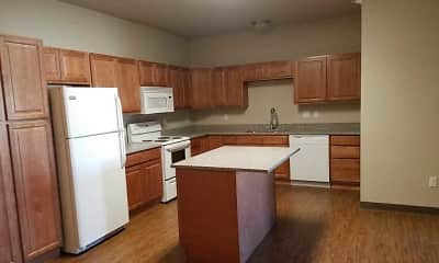 Kitchen, New Energy Apartments, 1