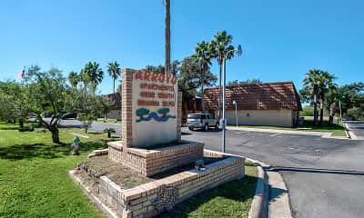 Community Signage, Arroyo Apartments, 2