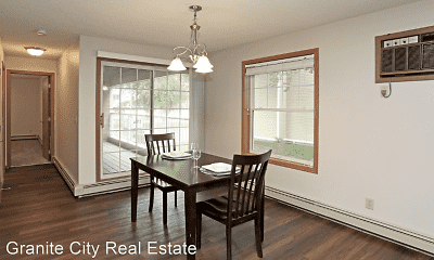 Dining Room, Wedgewood Apartments, 1