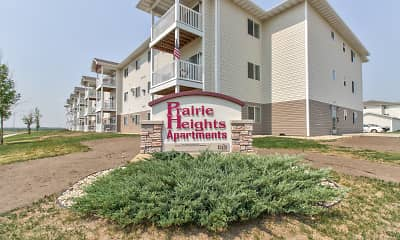 Community Signage, Prairie Heights Apartments, 0