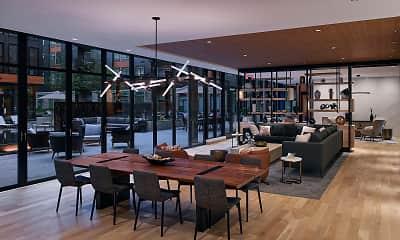 Dining Room, Arrowwood, 2