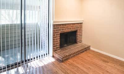 view of hardwood floored living room, Indian Creek, 2