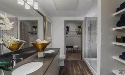 Bathroom, TriVista on Speer, 2