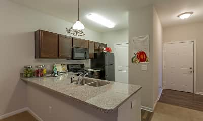 Kitchen, Steeplechase at Parkview Apartments, 0