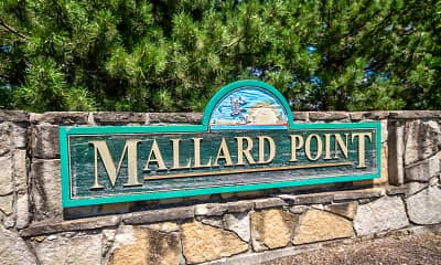 Community Signage, Mallard Point, 2