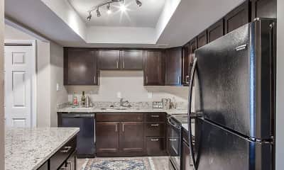 Kitchen, Edgewater Apartments, 0