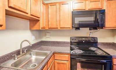 Kitchen, Solon Club Apartments, 1