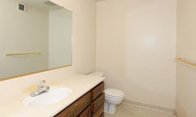 Bathroom, Bear Creek Manor & Terrace Apartments, 2