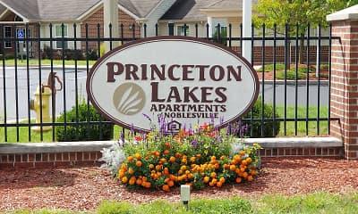 Community Signage, Princeton Lakes, 1