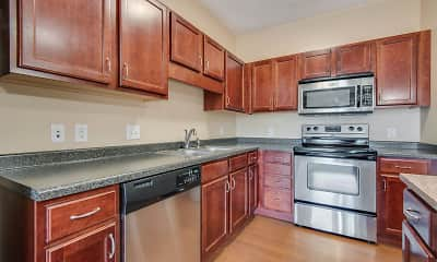 Kitchen, Oaks Glen Lake Apartments, 1