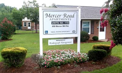 Community Signage, Mercer Road, 2