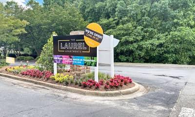 Community Signage, The Laurel, 2