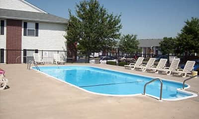 Pool, Mountain Boulevard Apartment Homes, 1