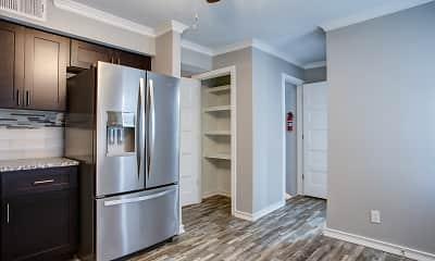 Kitchen, Forest Park Apartments, 1