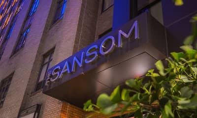 Community Signage, The Sansom, 0