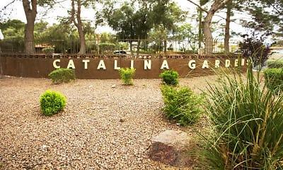 Community Signage, Catalina Gardens, 2