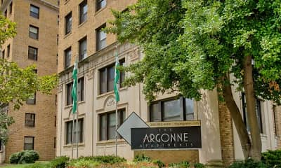 Community Signage, The Argonne, 0