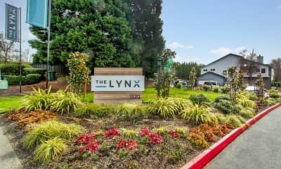 Community Signage, The Lynx, 2