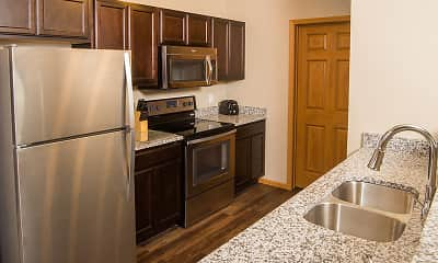 Kitchen, The Pines at Rapid, 1