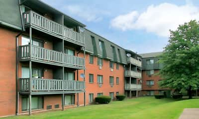 Building, Pebblebrook Apartments, 0