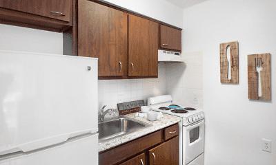 Kitchen, Forest Dale - Senior Living Community (62+), 0