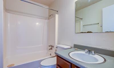 Bathroom, Raintree Village, 2