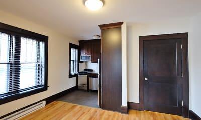 Bedroom, Lilium Apartments, 1
