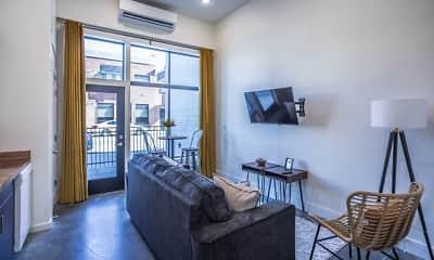 University Lofts Apartments, 1