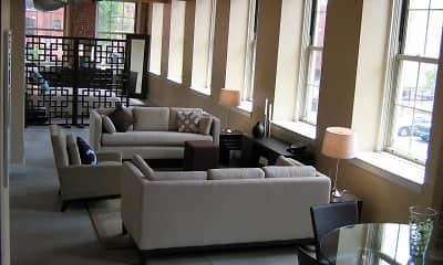 Living Room, Haverhill Lofts, 1