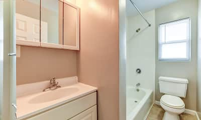 Bathroom, Windsor Apartments, 2